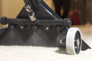 Hilo-floortool-spraying-on-carpet